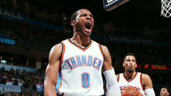 Westbrook is a relentless triple-double machine