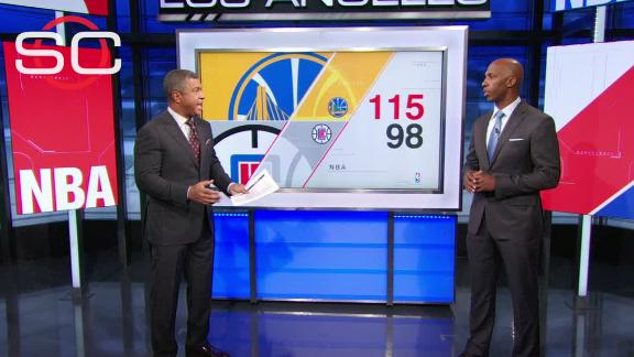 Warriors show off their passing skills in win over Clippers
