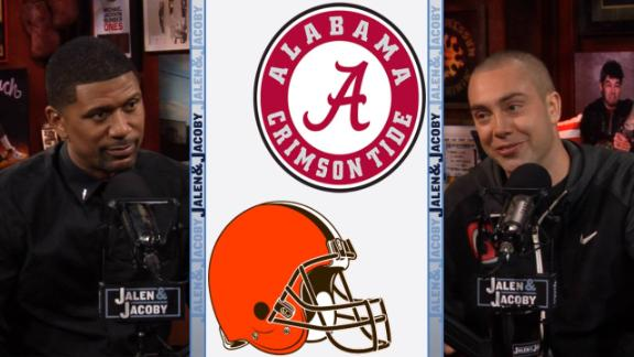 Jalen & Jacoby: Could Alabama beat the Cleveland Browns?