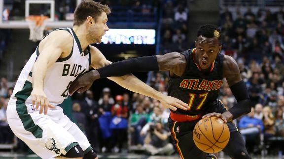 Hawks overcome 20-point deficit to beat Bucks