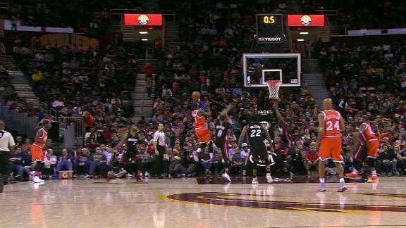 Kyrie's timing on point on buzzer-beater