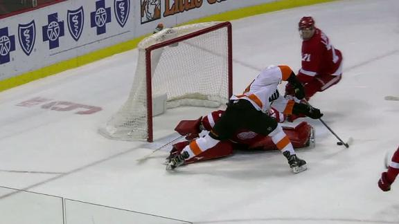 Schenn's OT winner makes it nine straight for the Flyers