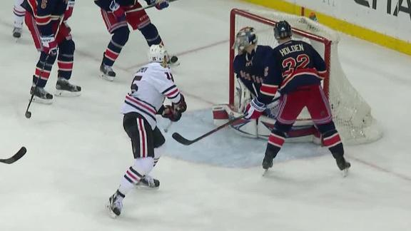Anisimov's goal the difference for Blackhawks