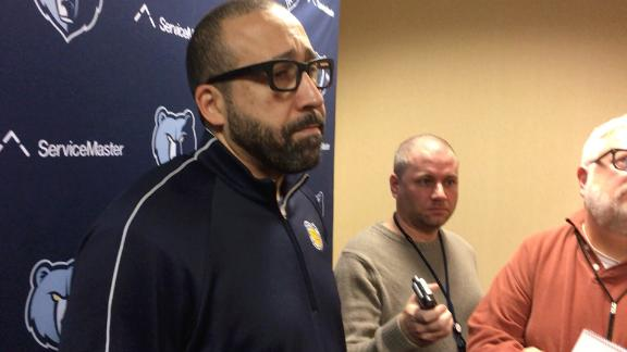 Grizzlies' Fizdale doesn't see coaching in LeBron's future