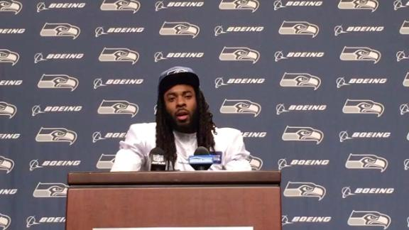 Sherman can't guarantee there won't be another outburst