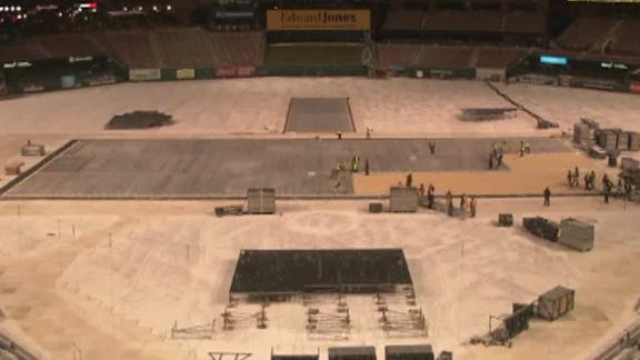 NHL getting St. Louis ready for outdoor hockey