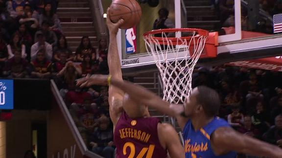 Jefferson throws it back with super slam