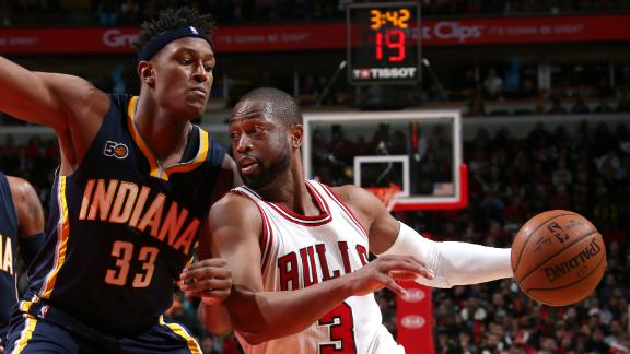 Bulls hold off Pacers to snap three-game skid