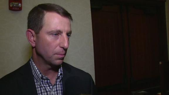 Dabo careful not to 'overprepare' for OSU
