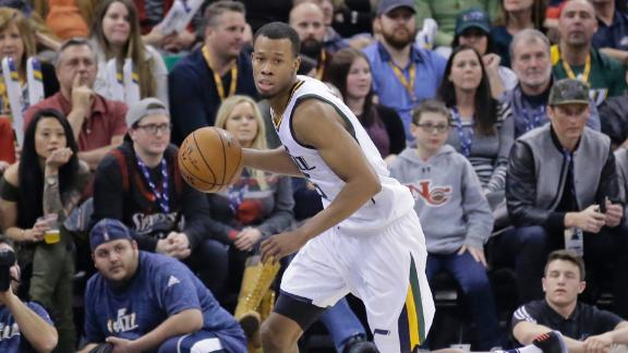 Jazz rally in fourth quarter to top 76ers