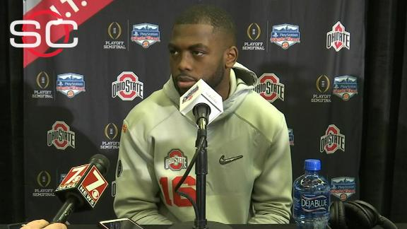 Barrett not fazed by Jadar Johnson's comments