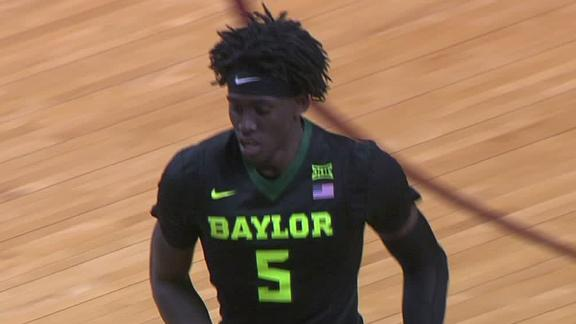 Motley's double-double leads Baylor's rout of Oklahoma