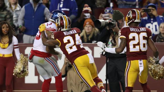 Norman flagged for unnecessary roughness against OBJ