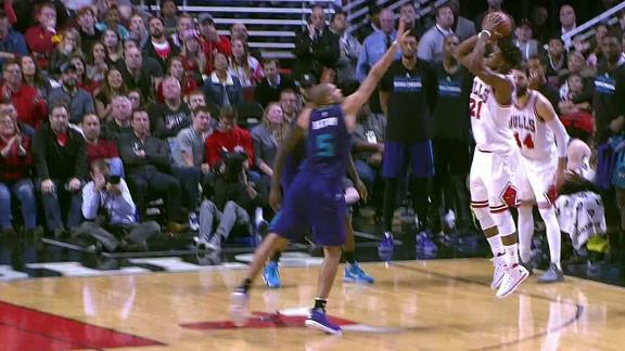 Butler drops 52 and this big dagger on the Hornets