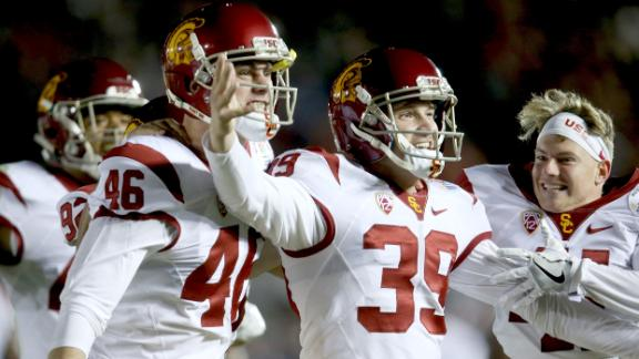 USC rallies to win amazing Rose Bowl
