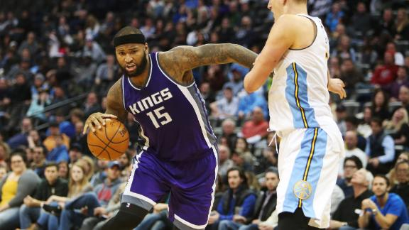 Cousins helps Kings top Nuggets on the road
