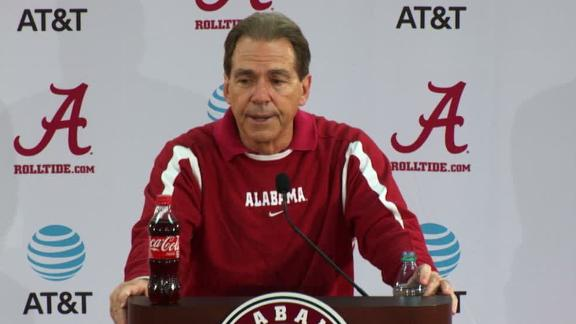 Saban calls transition with Sarkisian 'excellent'