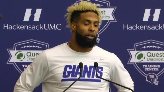 OBJ excited about playoffs, dodges question about Miami