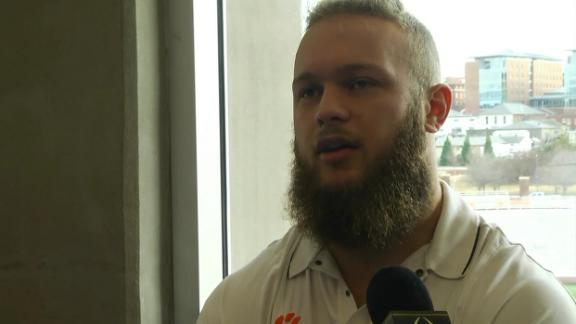 Clemson's Boulware motivated by '15 runner-up banner