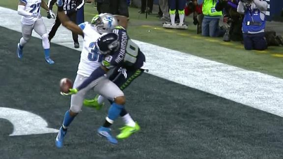 Paul Richardson makes spectacular TD catch with one hand in win
