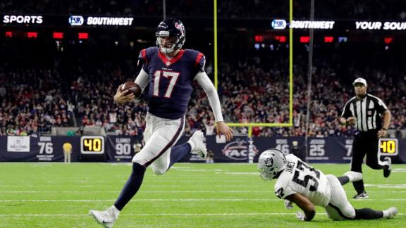 Osweiler, Texans defeat Raiders in AFC wild card
