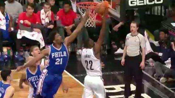 Embiid shines in Sixers' 105-95 win over Nets