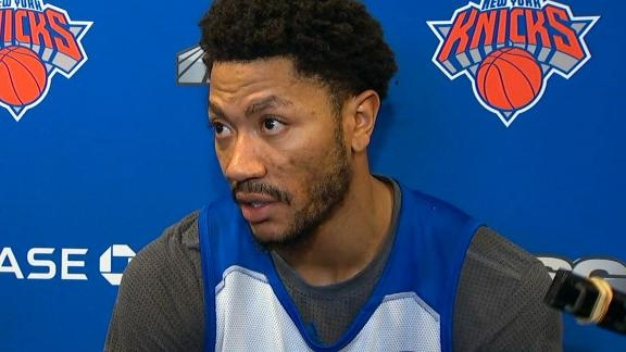 Rose says his absence had nothing to do with 'the team or basketball'