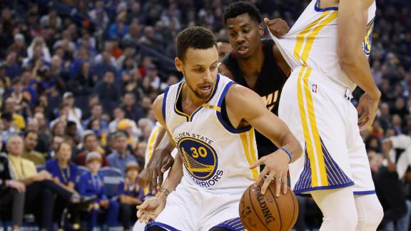 Warriors top Heat, improve to 33-6