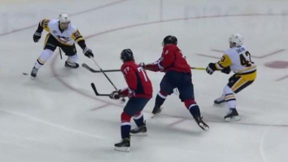 Ovechkin notches 1,000th point with wicked wrister goal in win