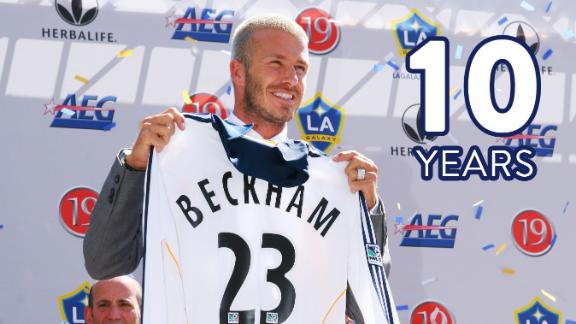 Video via MLS: Relive LA's Beckham signing