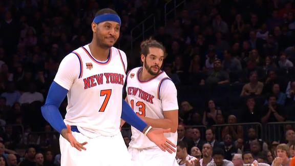 Knicks take a step in right direction with win