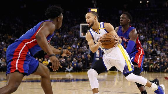 Warriors take down Pistons for third straight win