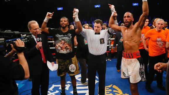 DeGale and Jack battle to a majority draw