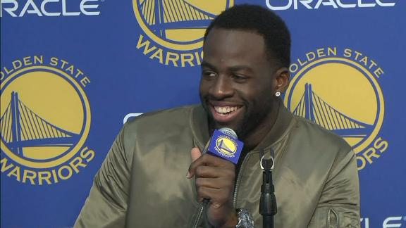 Draymond Green disputes LeBron James' avowal that Warriors, Cavs aren't rivals