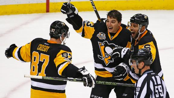 Penguins edge by Capitals in 8-7 OT thriller