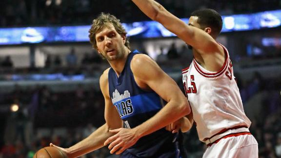 Mavericks squeak by Bulls for third straight win