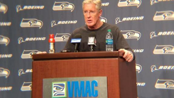 Pete Carroll injury flub could cost Seahawks second-round pick