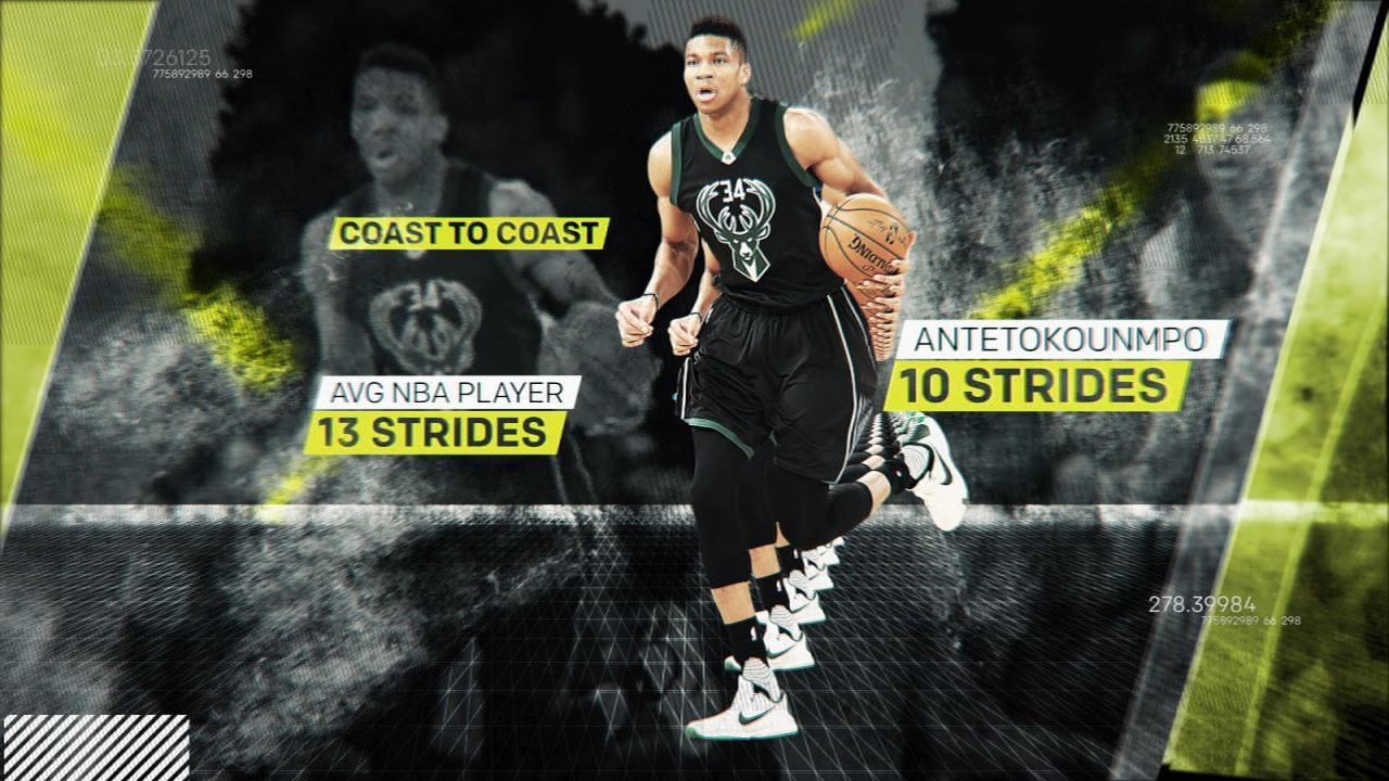 The science behind the Greek Freak's skills