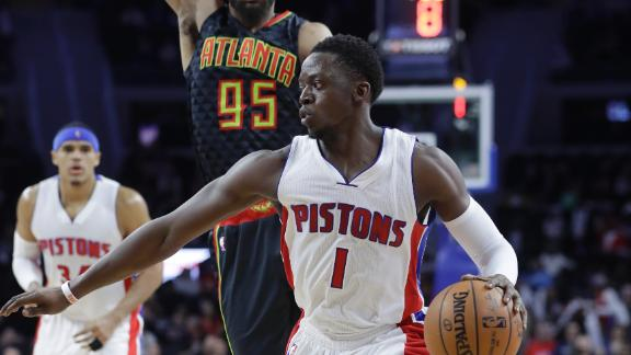 Pistons come out strong early in win over Hawks