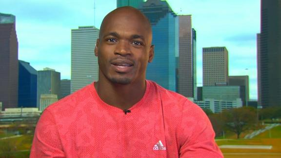Adrian Peterson wants to stay in Minnesota but would consider Giants, Bucs, Texans