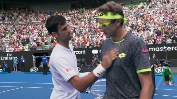 Novak Djokovic upset by Denis Istomin at Australian Open