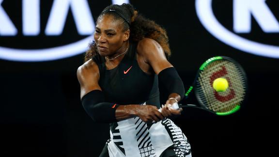 Serena Williams unscathed in win over Lucie Safarova