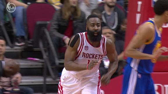 Harden gets a technical after his layup