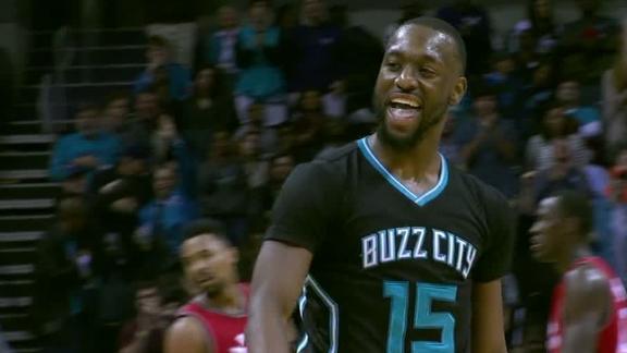 Hornets rout Raptors behind Walker's 32 points