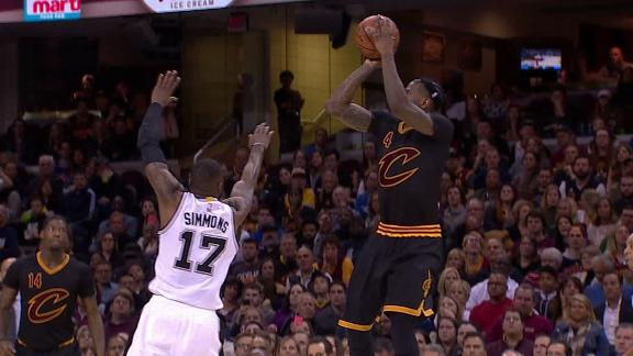 Cavs turn defense into offense to end third