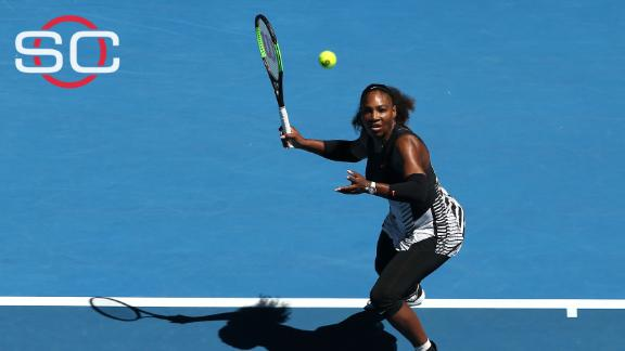 Serena Williams cruises to straight-set win