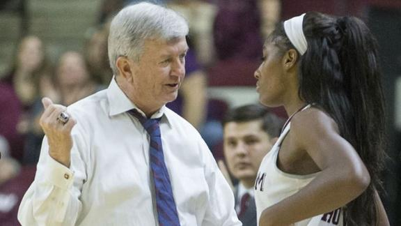 No. 25 Aggies top Tigers 54-52