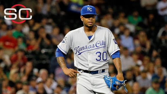 Royals GM Moore on Ventura: 'We're going to miss him'