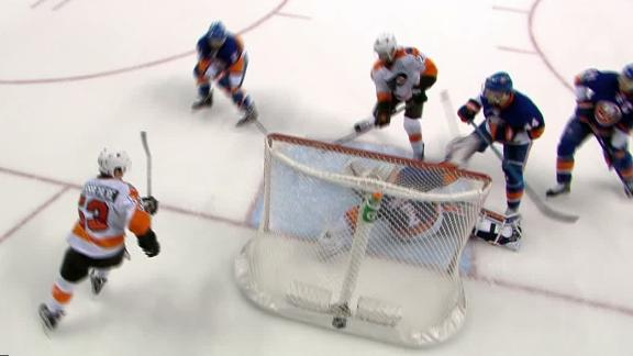 Giroux wins it in OT for the Flyers