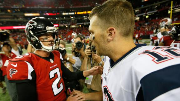 Tom Brady texts Super Bowl LI counterpart Matt Ryan regularly